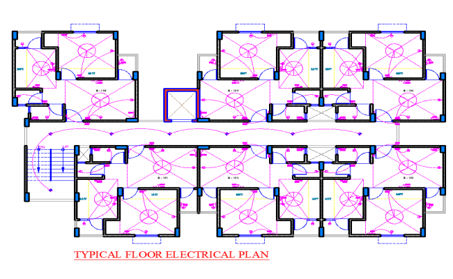 Typical Floor Electrical Plan