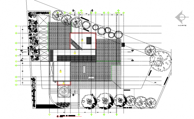Unifamiy project plan detail dwg file