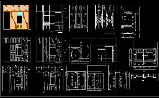 Bedroom Cupboard Layout
