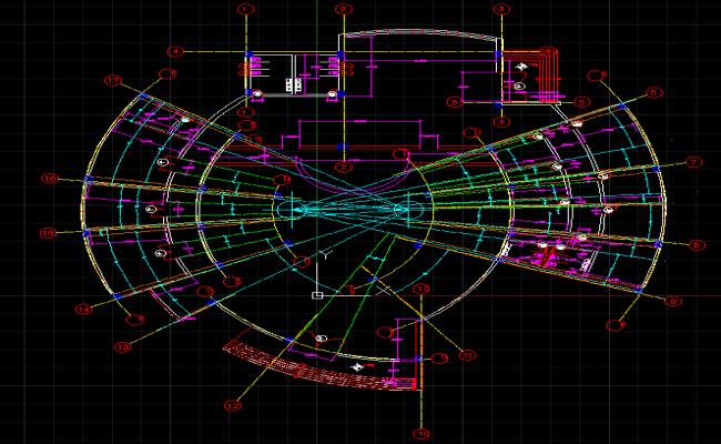 Bank layout design