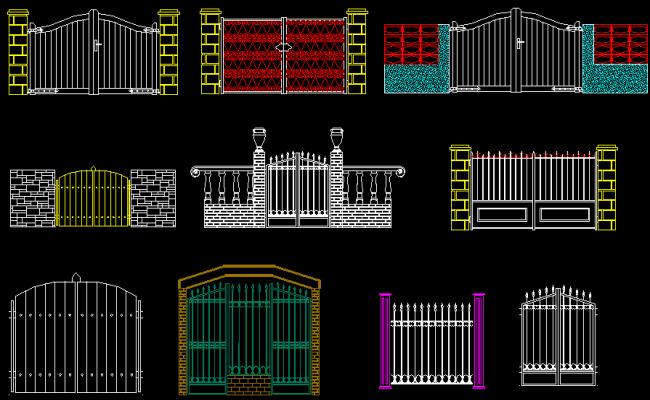 Gate Elevation Design