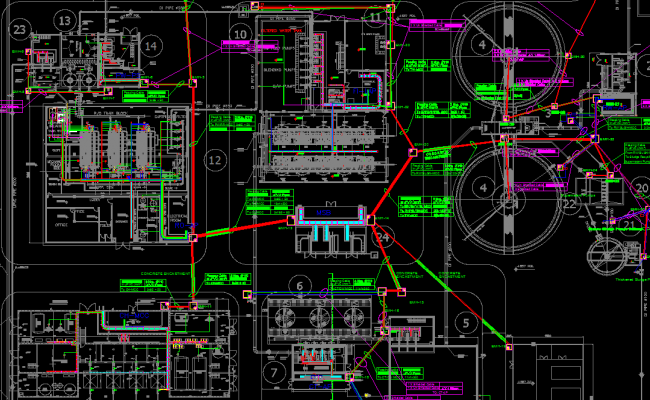 ELECTRICAL LAYOUT OF BANK