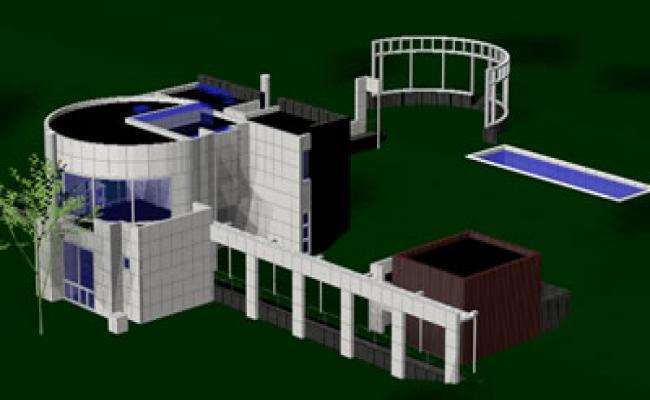 modern 3d house plans