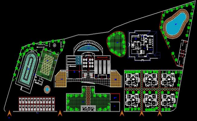 Resort design dwg