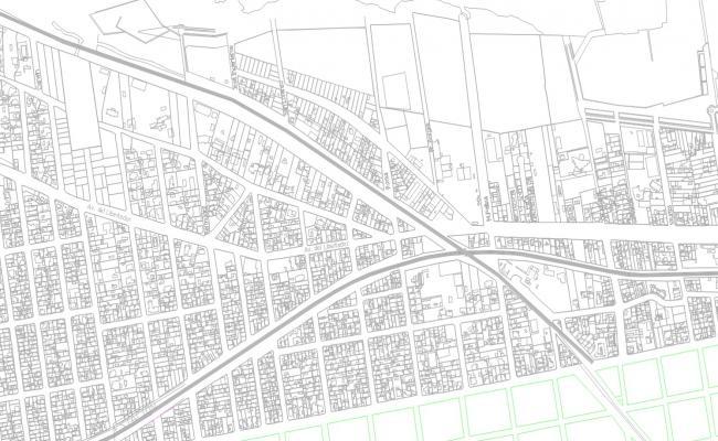 Urban Planning AutoCAD File