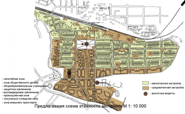 Urban design dwg file