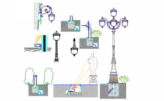 Urban lighting design