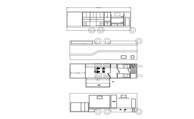 Vanity Van Design DWG File Download
