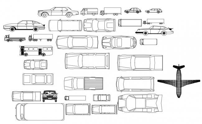 Vehicle CAD Blocks Free Download