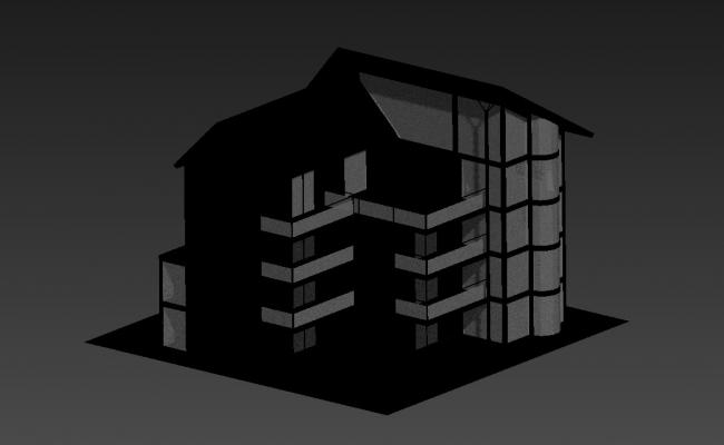 View Of Factory 3D MAX File Free Download
