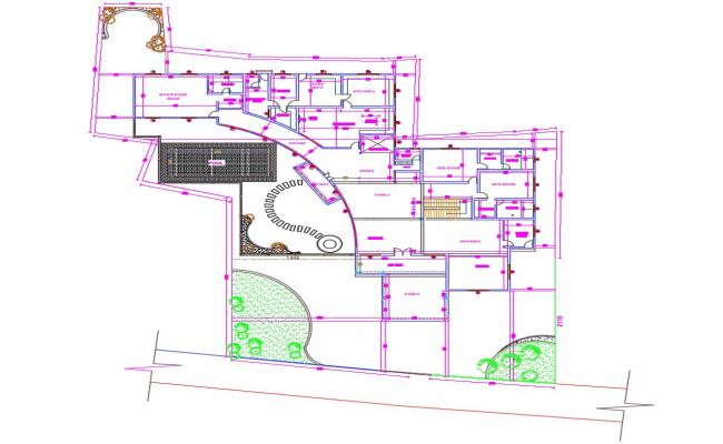 Villa plan design