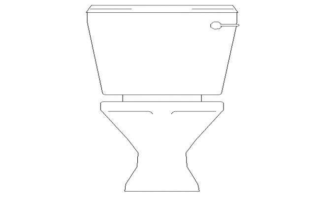 WC Front Side Elevation Detail