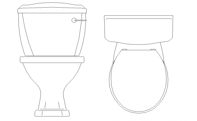 WC Plan & Elevation Design