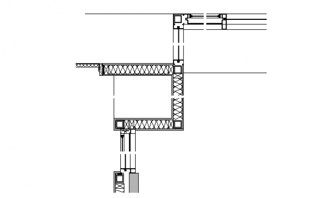 Construction Joint Plan Detail dwg file