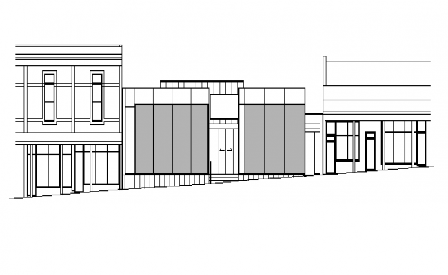 Wall Construction Plan of House Detail dwg file