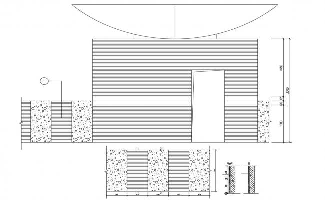 Wall Section Detail AutoCAD File Free