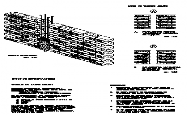 Wall of red brick annealing design drawing