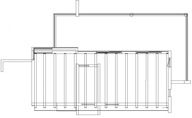 Wall reeling detail dwg file