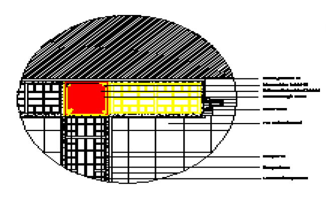 Wall section detail design drawing