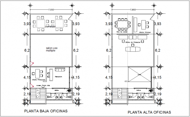 Ware house area of industrial plant dwg file