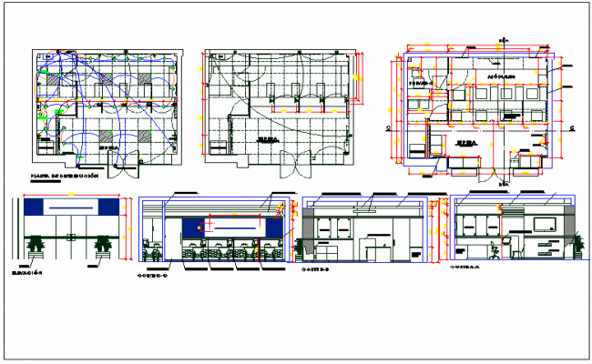 Warehouse layout dwg warehouse plan detail view dwg file for Warehouse layout design software