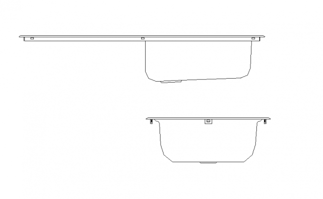 Wash basin CAD sanitary block detail elevation 2d view layout autocad file