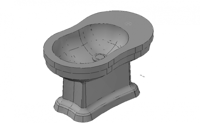 Free Wash Basin 3d Model