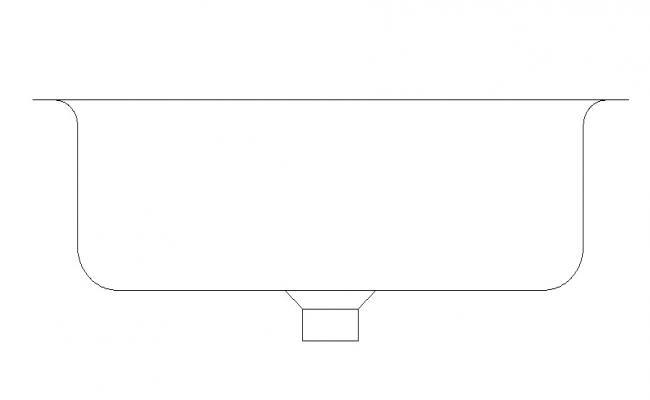 Washbasin Design AutoCAD File Free  Download