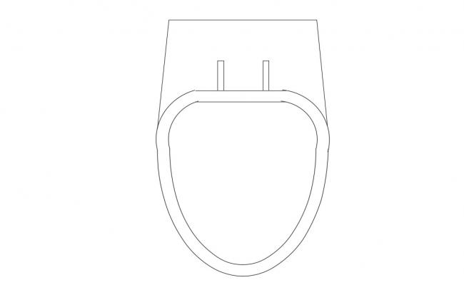 Water Closet CAD Block