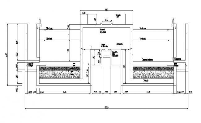 Water Filtration In DWG File