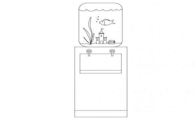Water Purifier Free CAD Blocks Download