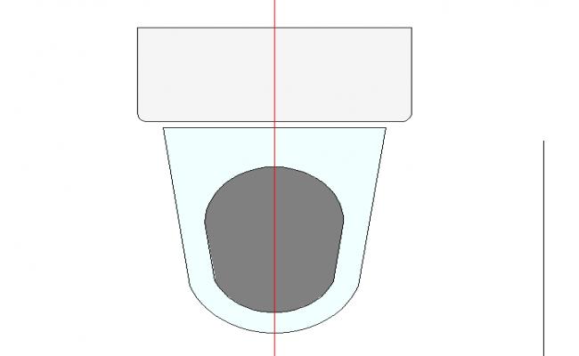Water closet plan