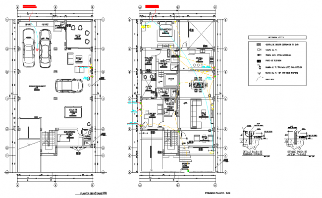 Water line home plan layout file
