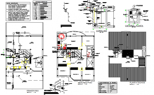 Water pipe line housing layout file