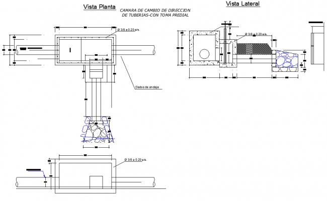 Water treatment plan and section layout file