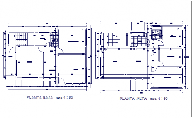 Weaving and packaging workshop related with industrial area floor plan dwg file