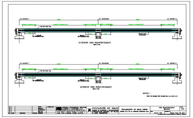 Web reinforcement concrete beam Design