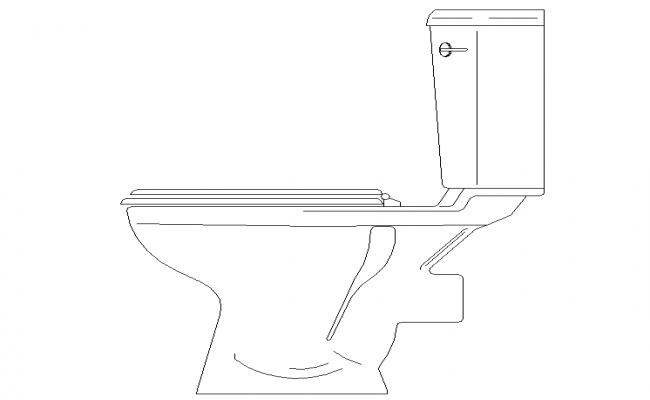Western WC Side Elevation Detail