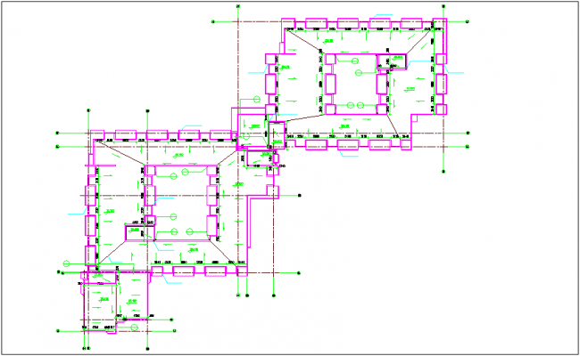 Window mounting view of roof plan dwg file