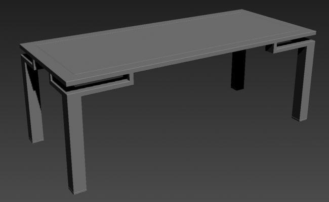 Wooden Furniture Desk Free Download Furniture Block 3ds Max File