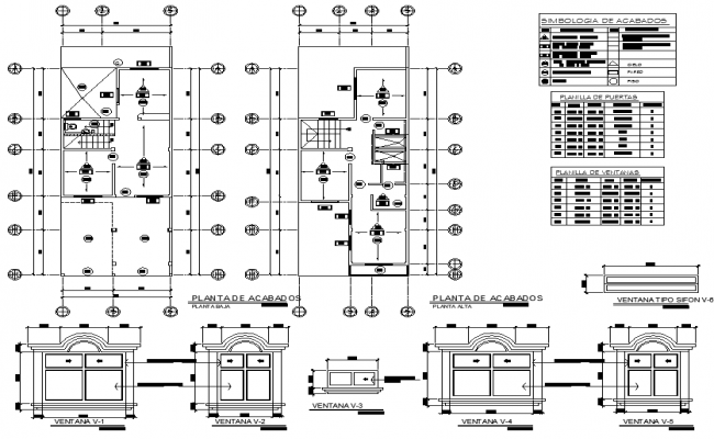 Working house plan detail autocad file