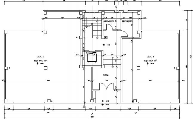 Working plan house detail dwg file