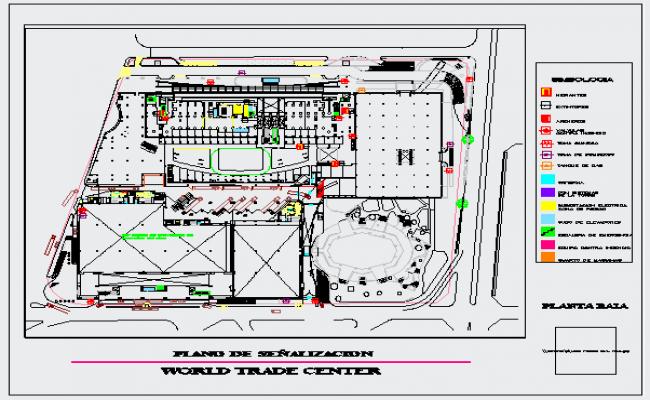 Plan of World Trade center design