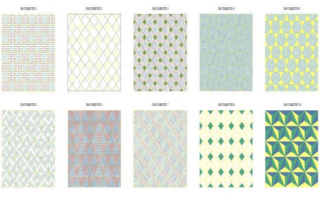 Hatch Block Pattern Design
