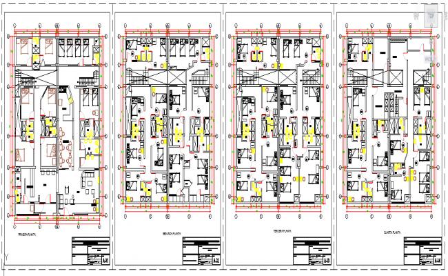 Hotel Floor design