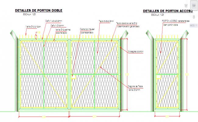 Fencing Gate Design