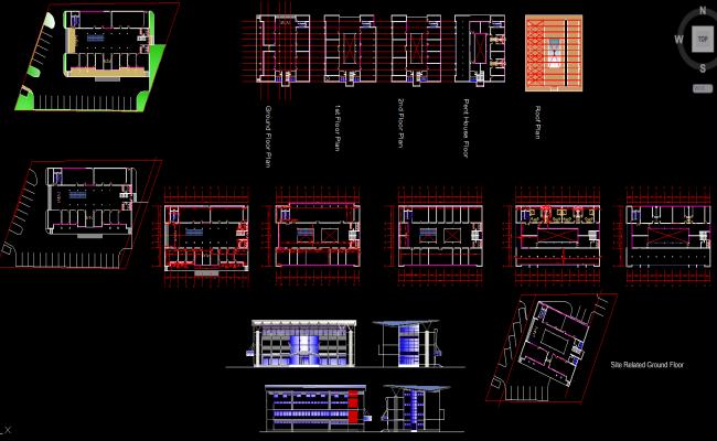 small shopping mall design plan