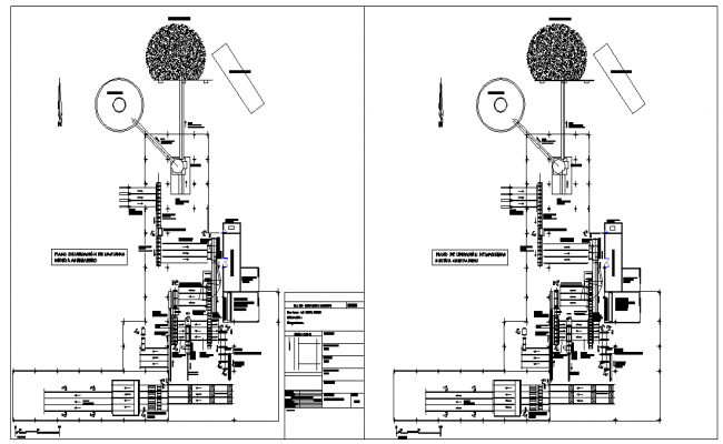Factory Lay-out Detail