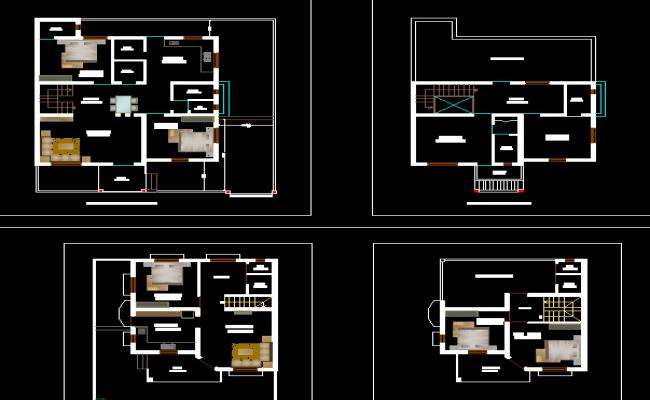 Layout plan of Bungalow
