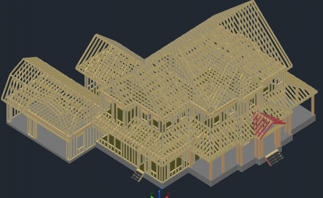 3D Structure Cabin